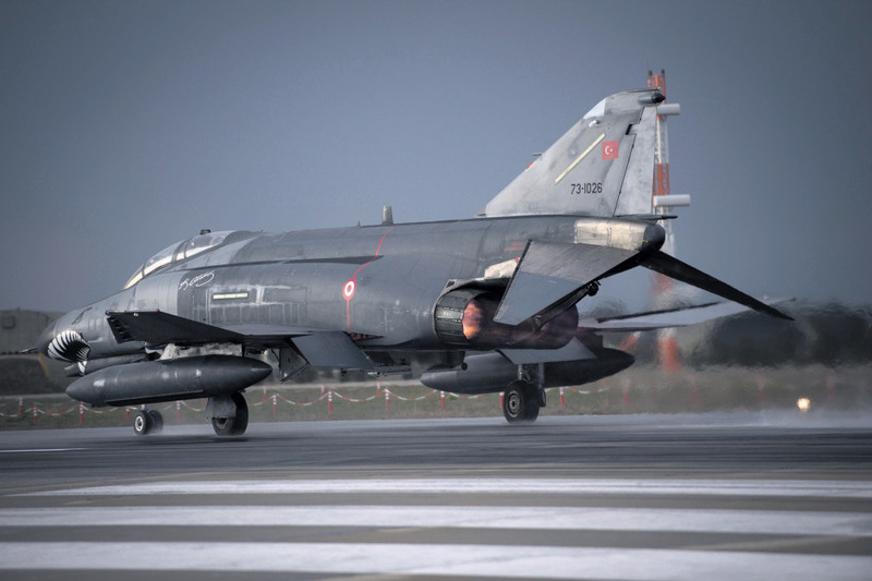 F-4 jets, a reliable aircraft that made a name for itself in the Vietnam War, were obtained from Germany and the United States in a bid to boost Turkey's air power.