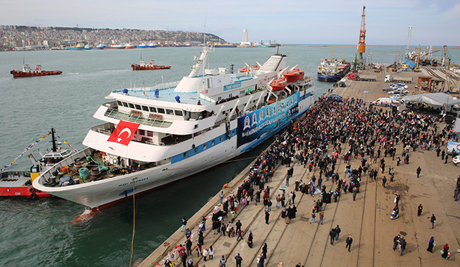 Court to examine Mavi Marmara ship