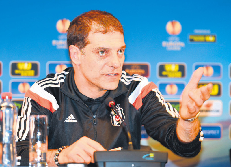 Slaven Bilic is hopeful for the Europa League Round of 16's second leg.