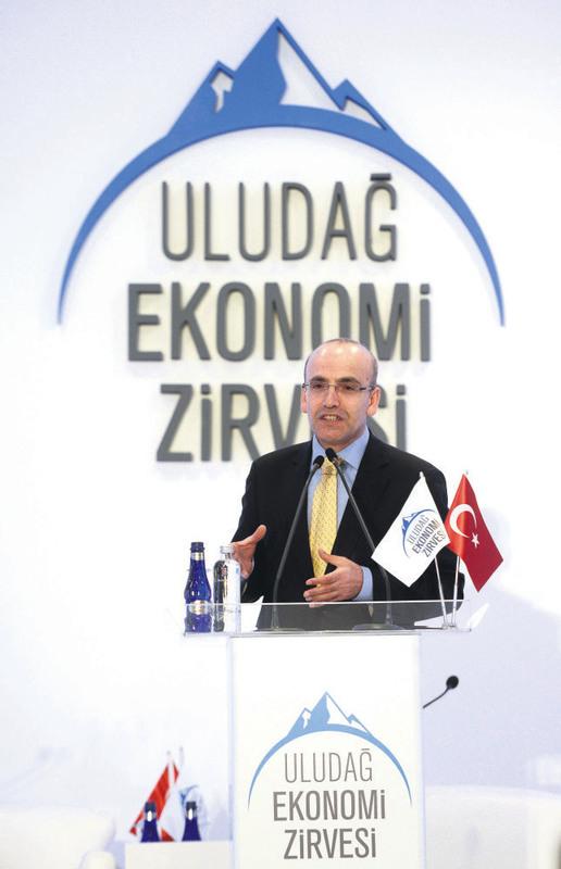 Finance Minister Mehmet u015eimu015fek