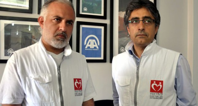 Turkish doctors donate wages to Syrian colleagues working in conflict conditions