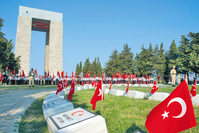 March 18 Çanakkale (Gallipoli) victory and Martyrs' Day, commemorated by Turkey.