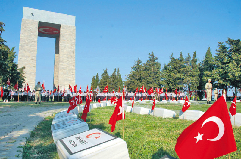 March 18 u00c7anakkale (Gallipoli) victory and Martyrs' Day, commemorated by Turkey.