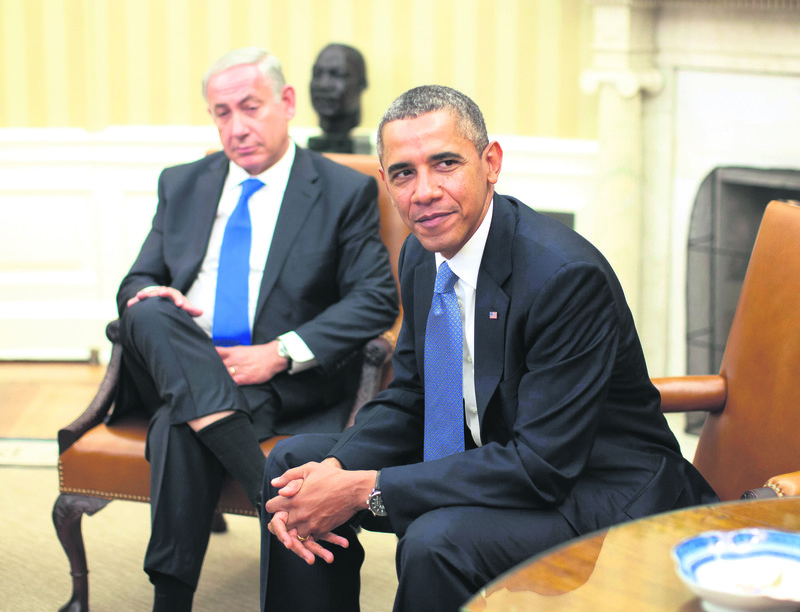 The relationship between U.S. President Obama and Israeli PM Netanyahu is troubled due to different stances on nuclear talks with Iran and the Palestinian issue.