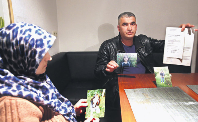 The Yilmazoglu family from the German town of Lieblos said that their 12-year-old daughter was taken away from them by child protection office officials without providing any explanation