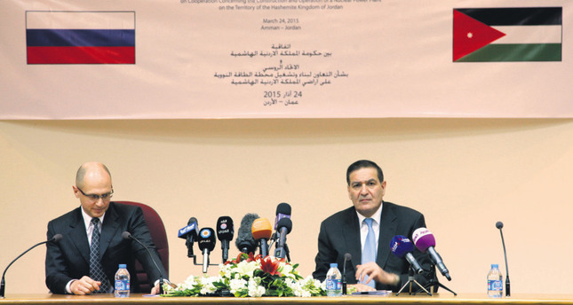 Jordan signs $10B nuclear plant deal with Russia - Daily Sabah