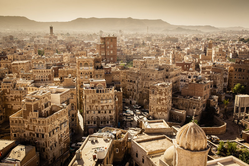 Being listed on UNESCO's World Heritage List, Yemen's 1,000-year-old old houses under threat by ongoing military intervention.