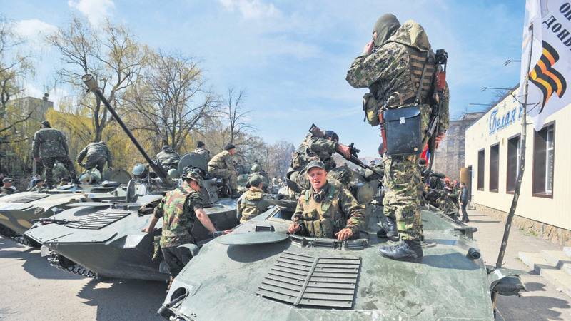 Ukraine has been dragged into a deadly civil war since the ouster of former President Yanukovych as Russian-backed seperatists demand independence in the east.