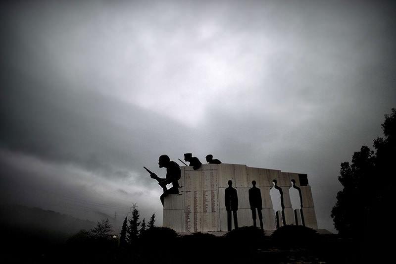 WWII massacre memorial in Distorno, Central Greece  AFP Photo