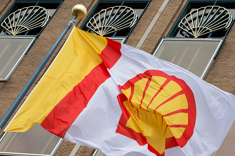 Company logo of Royal Dutch Shell flies outside the head office in The Hague, Netherlands  AP Photo