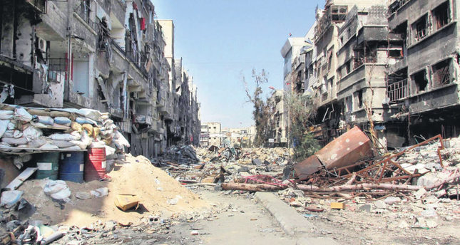 Palestinian factions allying with regime to fight ISIS in Yarmouk