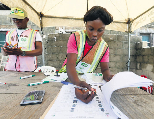 Buhari's APC winning big in Nigeria governorship polls