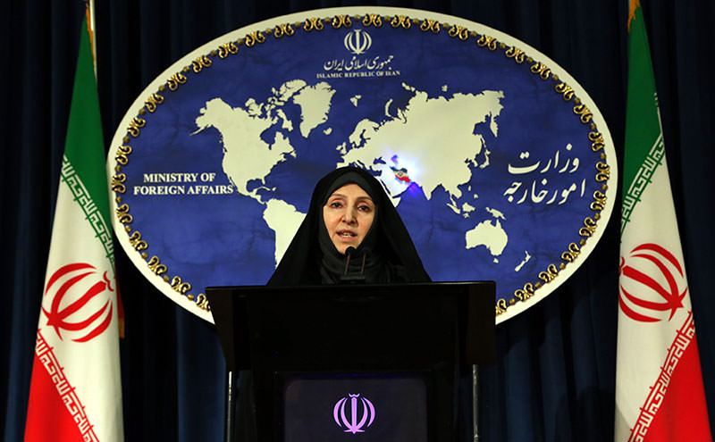 Iranian Deputy Foreign Minister Marzieh Afkham speaks to the media in Tehran, Iran, 10 September 2013 (EPA Photo)