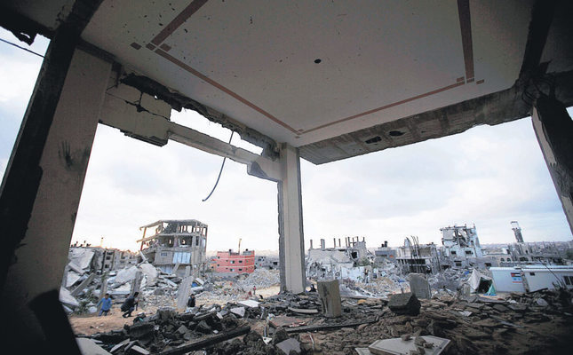 The latest Israeli aggression on Gaza left more than 2,000 dead.