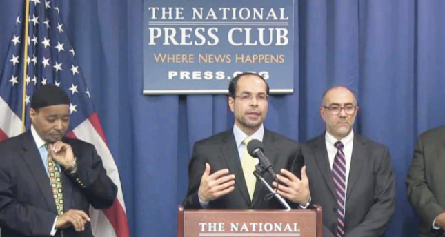 Nihad Awad C, executive eirector of the Council on American-Islamic Relations CAIR and board member of USCMO