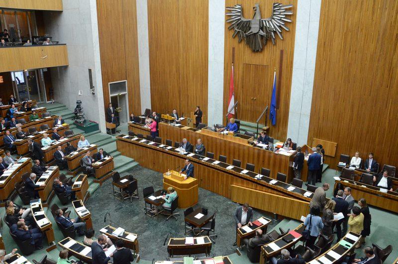 Austrian Parliament (AA Photo)