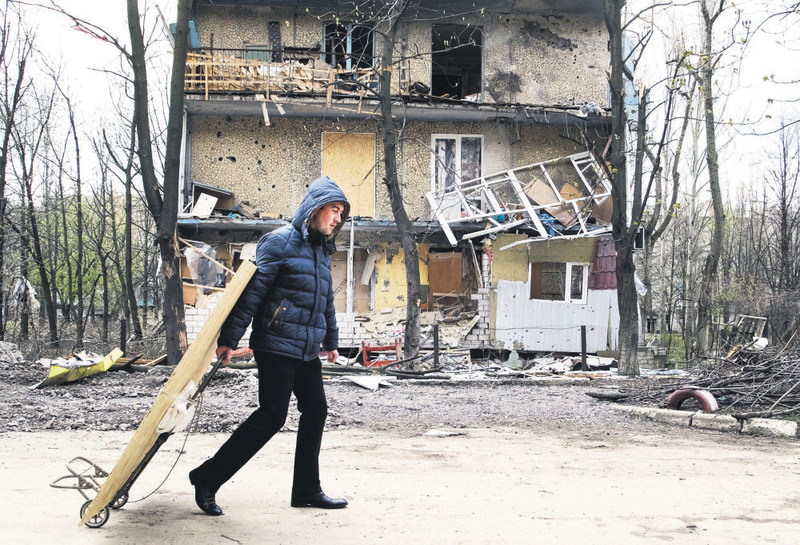 Ukraine has been dragged into a civil war as Russia backs separatist groups while the U.S. supports the Kiev government.