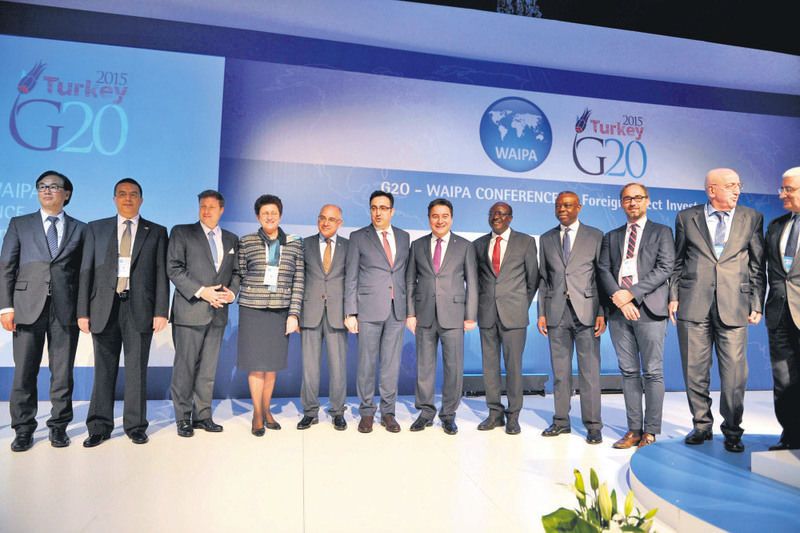Deputy PM Babacan and representatives of the World Investment Agencies Union participated at the G20-WAIPA International Direct Investment Conference, headed by the Prime Ministry's Investment Support and Promotion Agency.