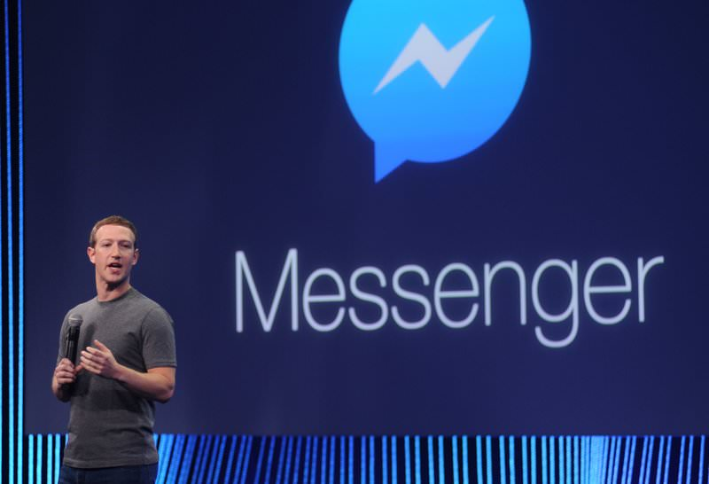 In this March 25, 2015 file photo, Facebook CEO Mark Zuckerberg introduces the new messenger platform at the F8 summit in San Francisco, California (AFP Photo)
