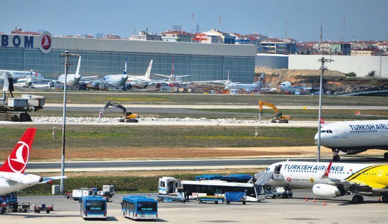 Istanbul's International Atatu00fcrk Airport (above) and Sabiha Gu00f6ku00e7en airports, remain inadequate to satisfy the growth of the local aviation sector, said the head of the consortium building the third airport.