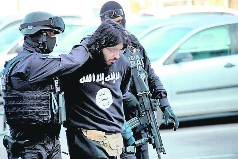 Bosnian police arrested dozens of militants linked to ISIS and al-Qaida.