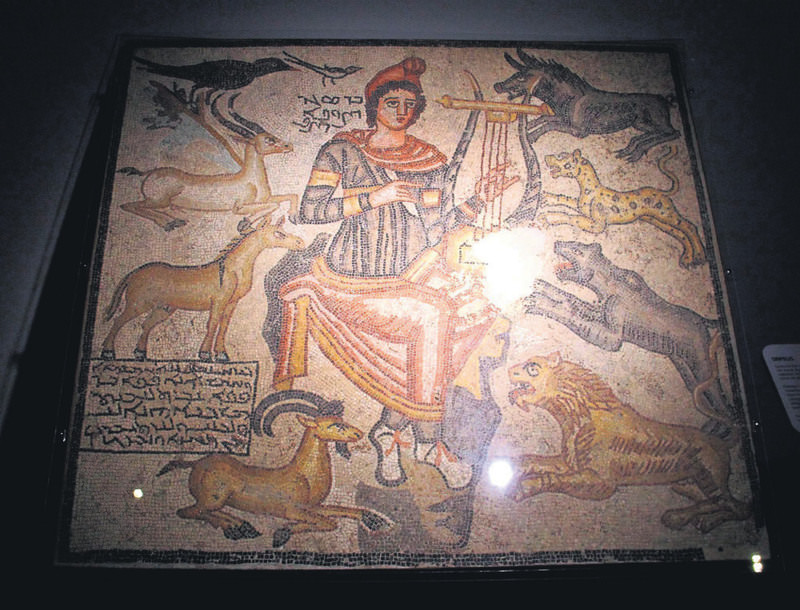 Known as the earliest Edessa mosaic, the 'Orpheus mosaic', which returned from the Dallas Museum of Art in the U.S in 2012, will be on display in the Haleplibahu00e7e Museum.