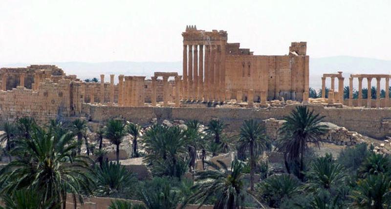 Ancient Roman city of Palmyra (AP Photo)