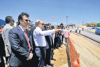 High-tech valley's groundbreaking ceremony was held in Kocaeli's Gebze district with a ceremony attended by Science, Industry and Technology Minister Işık. Işık examined the construction area with his team after the ceremony.