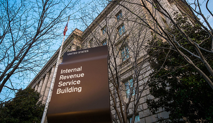 The Internal Revenue Service Headquarters (IRS) building is seen in Washington (AP Photo(