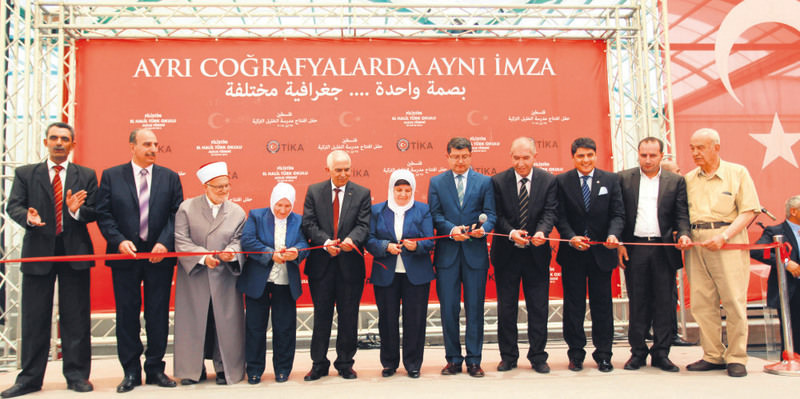 The opening ceromony of the Turkish School in Al-Khalil city, which was constructed by Tu0130KA, was held last week.