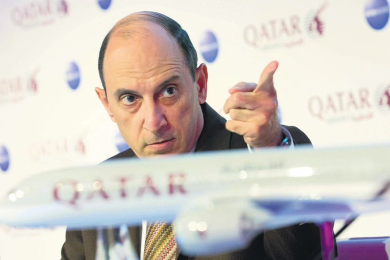 Al-Baker said Qatar would take note if Qatar Airways was not awarded the extra slot it is seeking in order to fly seven days a week to and from Schiphol.