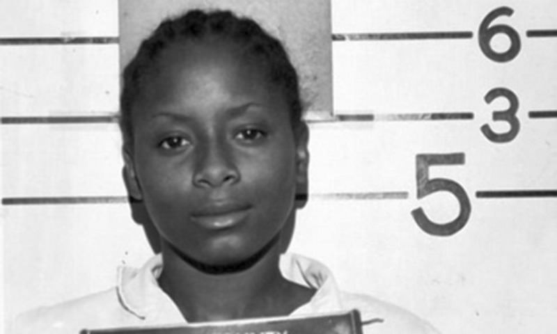Paula Cooper at age 16, when she was sentenced for the murder of 78-year-old Bible studies teacher Ruth Pelke (AP Photo)