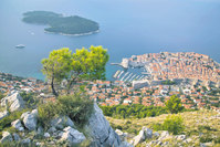 The perfect old town of Dubrovnik is feared to change soon with the construction of giant offshore oil rigs on the horizon.