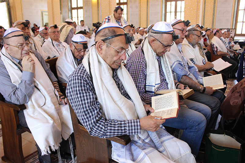 Turkey's Jewish community flocked to the renovated Edirne Synagogue following a four-year restoration funded by the government (u0130HA Photo)