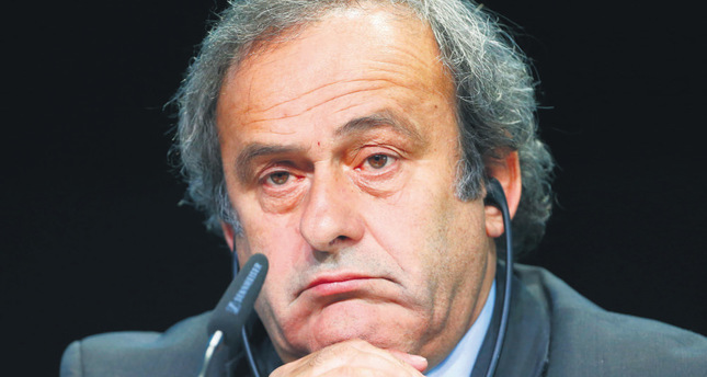 Platini to lead Europe's fight against FIFA boss
