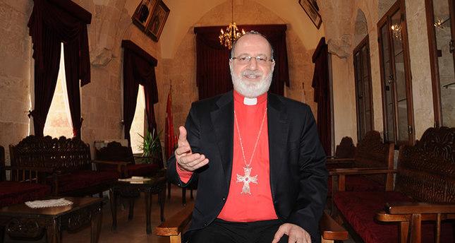Saliba Özmen, Metropolitan of the Mardin and Diyarbakır provinces for the Assyrian Orthodox Church (AA Photo)