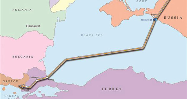 The greater part of the Turkish Stream gas pipeline will be laid within the corridor formerly intended for the South Stream (DHA)