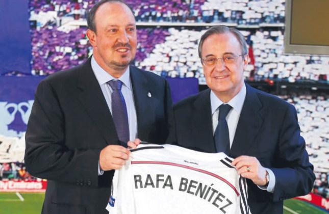 Benitez 10th man to take Madrid hotseat under Perez