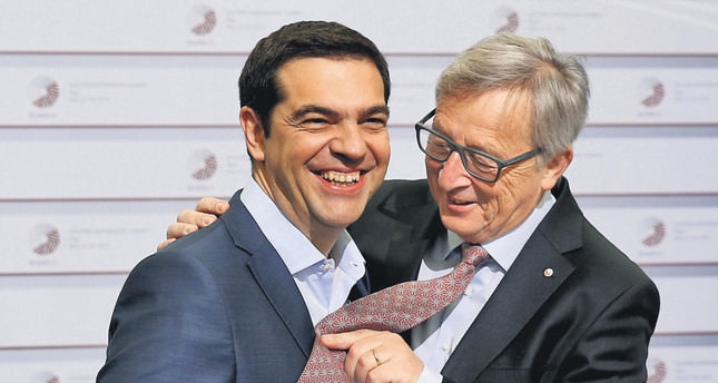 Greek Prime Minister Alexis Tsipras was expected to meet European Commission President Jean-Claude Juncker last night to discuss his government's proposal for a deal with Greece's creditors that will unlock vitally needed bailout funds. AP Photo