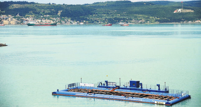 Excessive amount of phytoplankton changes Marmara Sea's color