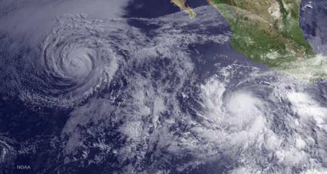 Hurricane Blanca expected to hit Mexico's Baja California