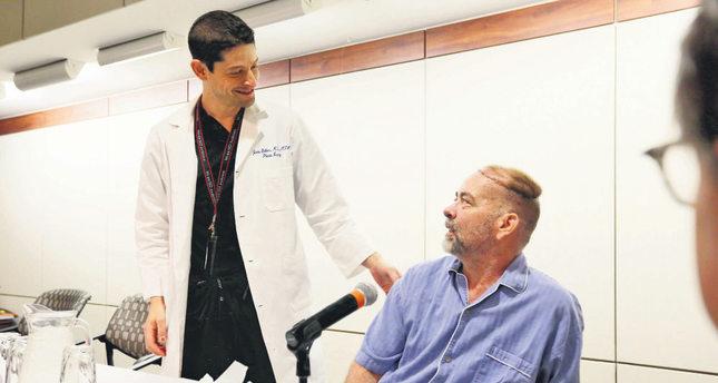 US doctors perform first skull-scalp transplant