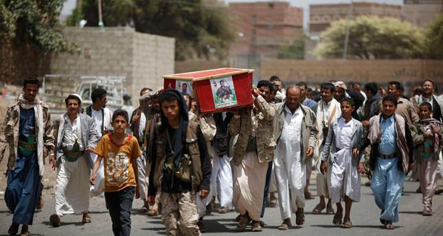 Saudi-led raids on Yemen capital leaves 45 dead