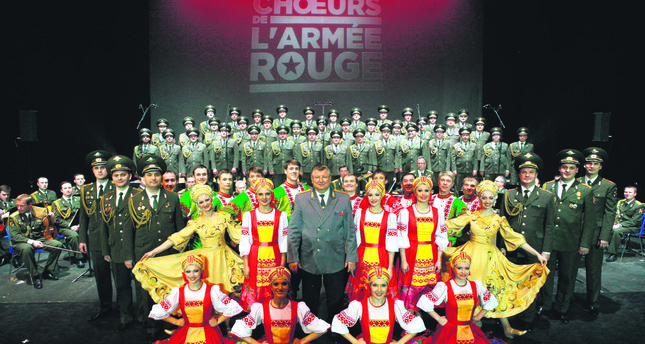 Russia's Red Army Choir to meet Turkish audience