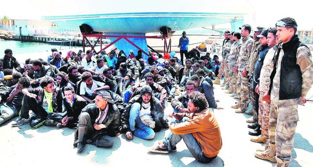 Dozens of migrants who were seeking to reach European coasts were rescued by Libyan coastal guards.