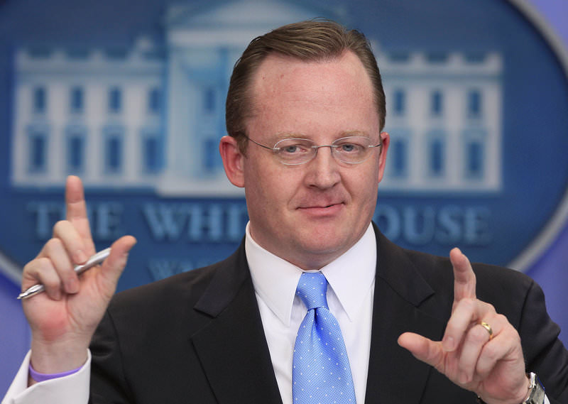 In this Jan. 28, 2011 file photo, then White House Press Secretary Robert Gibbs answers questions during his daily news briefing at the White House in Washington (AP Photo)
