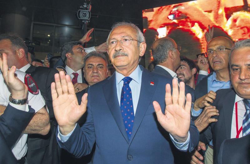 Republican People's Party (CHP) leader Kemal Ku0131lu0131u00e7darou011flu.