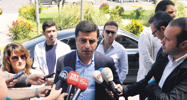 Co-chair of Peoples' Democratic Party (HDP). (AA Photo)