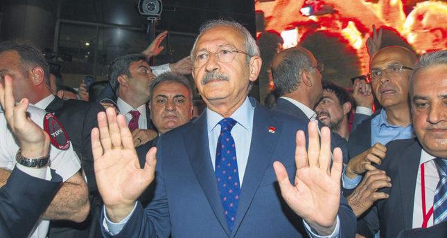 Republican People's Party (CHP) leader Kemal Kılıçdaroğlu.