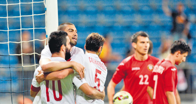 Turkey makes strong impression in 4-0 Bulgaria win
